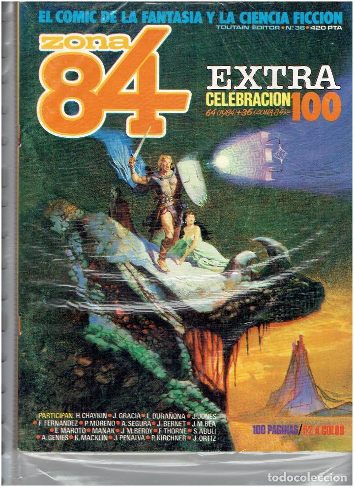 Cómics: * ZONA 84 * TOUTAIN EDITOR 1984 * LOTE DE 63 Nº + ALMANAQUES * IMPECABLES * - Foto 20 - 206537642