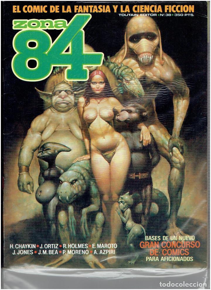 Cómics: * ZONA 84 * TOUTAIN EDITOR 1984 * LOTE DE 63 Nº + ALMANAQUES * IMPECABLES * - Foto 21 - 206537642