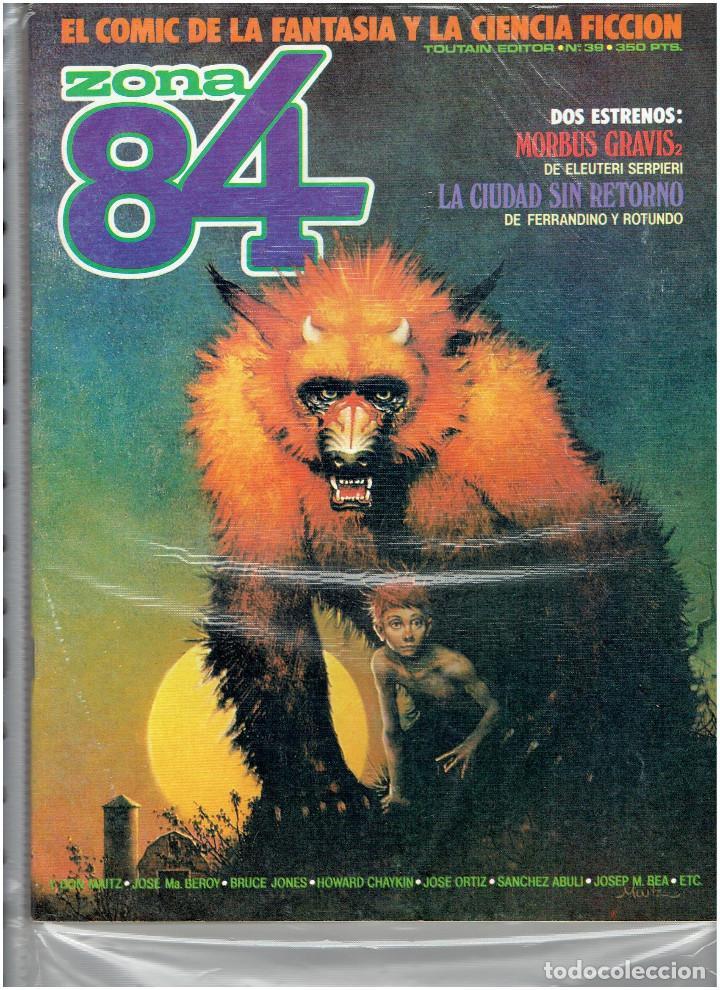 Cómics: * ZONA 84 * TOUTAIN EDITOR 1984 * LOTE DE 63 Nº + ALMANAQUES * IMPECABLES * - Foto 22 - 206537642