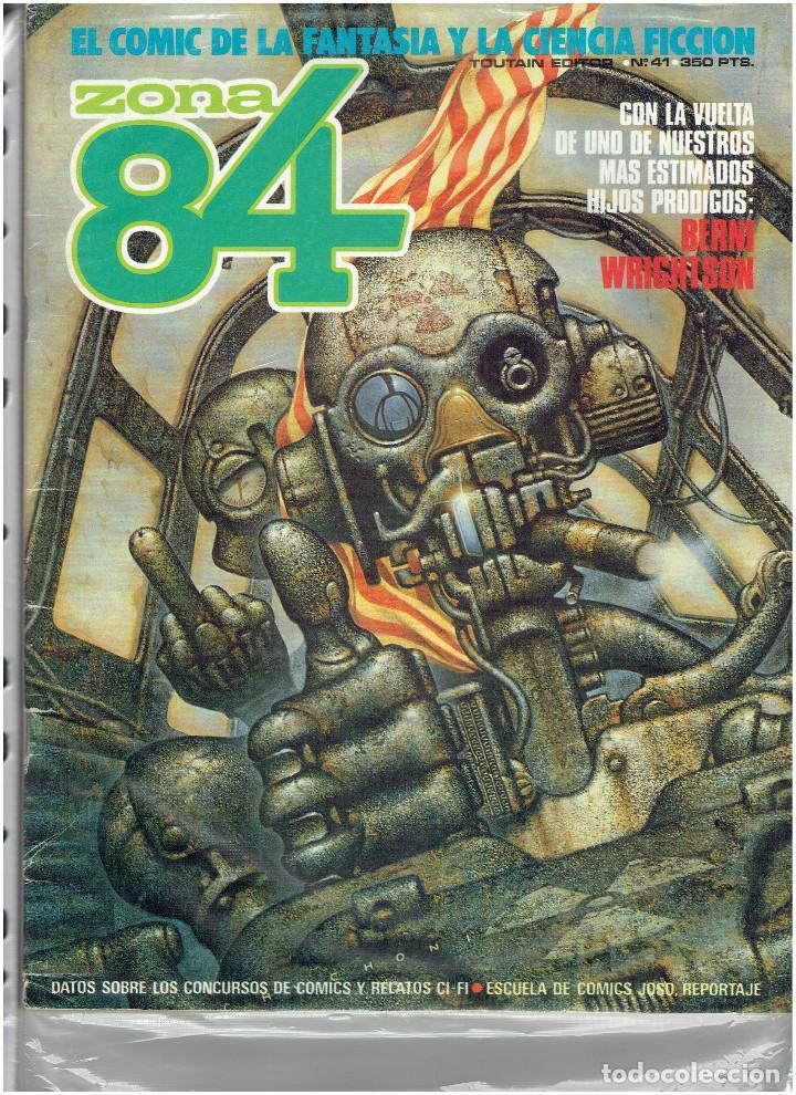 Cómics: * ZONA 84 * TOUTAIN EDITOR 1984 * LOTE DE 63 Nº + ALMANAQUES * IMPECABLES * - Foto 23 - 206537642