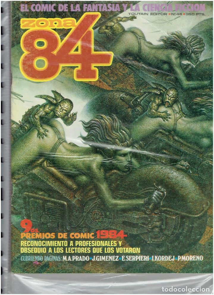 Cómics: * ZONA 84 * TOUTAIN EDITOR 1984 * LOTE DE 63 Nº + ALMANAQUES * IMPECABLES * - Foto 25 - 206537642
