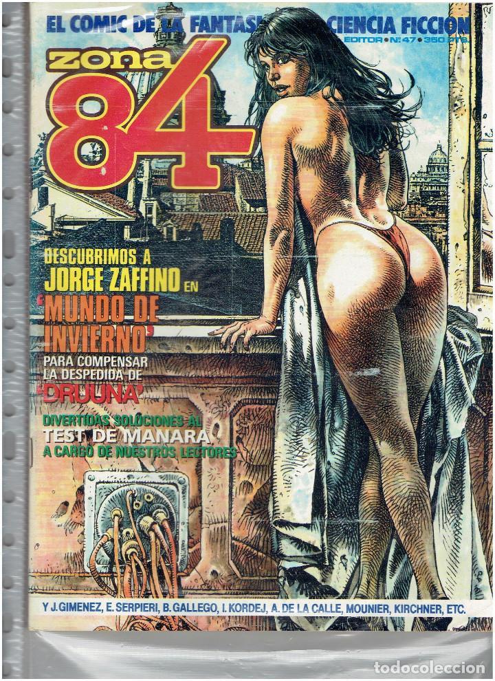 Cómics: * ZONA 84 * TOUTAIN EDITOR 1984 * LOTE DE 63 Nº + ALMANAQUES * IMPECABLES * - Foto 26 - 206537642