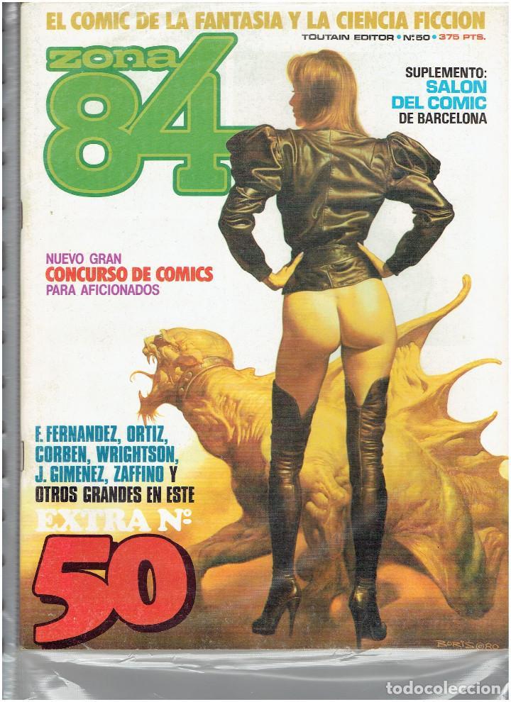 Cómics: * ZONA 84 * TOUTAIN EDITOR 1984 * LOTE DE 63 Nº + ALMANAQUES * IMPECABLES * - Foto 27 - 206537642