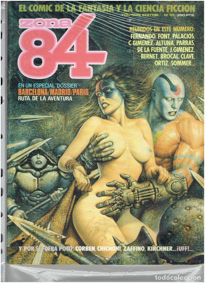 Cómics: * ZONA 84 * TOUTAIN EDITOR 1984 * LOTE DE 63 Nº + ALMANAQUES * IMPECABLES * - Foto 28 - 206537642