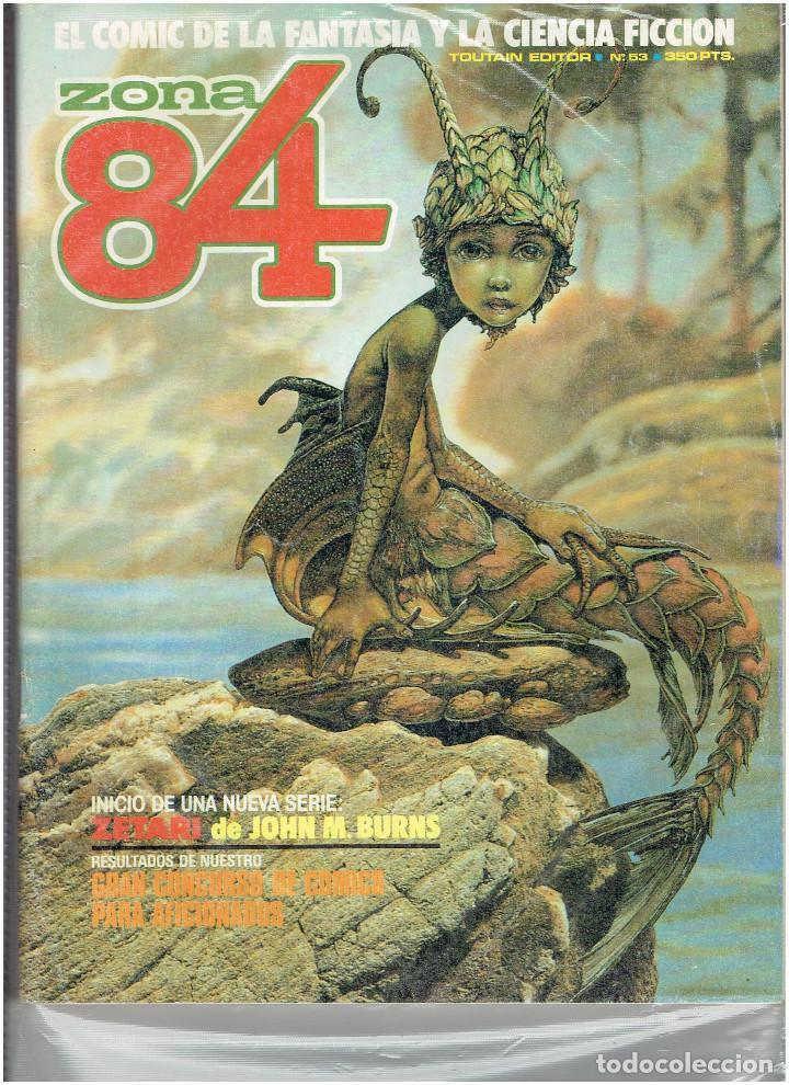 Cómics: * ZONA 84 * TOUTAIN EDITOR 1984 * LOTE DE 63 Nº + ALMANAQUES * IMPECABLES * - Foto 29 - 206537642