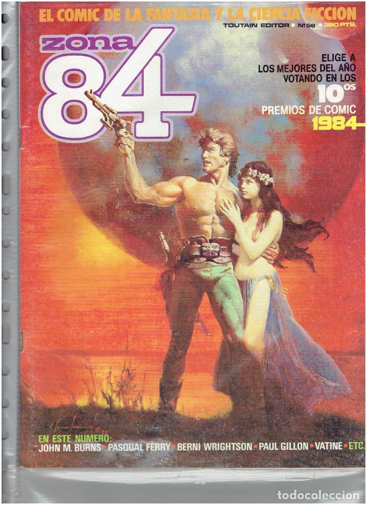 Cómics: * ZONA 84 * TOUTAIN EDITOR 1984 * LOTE DE 63 Nº + ALMANAQUES * IMPECABLES * - Foto 30 - 206537642