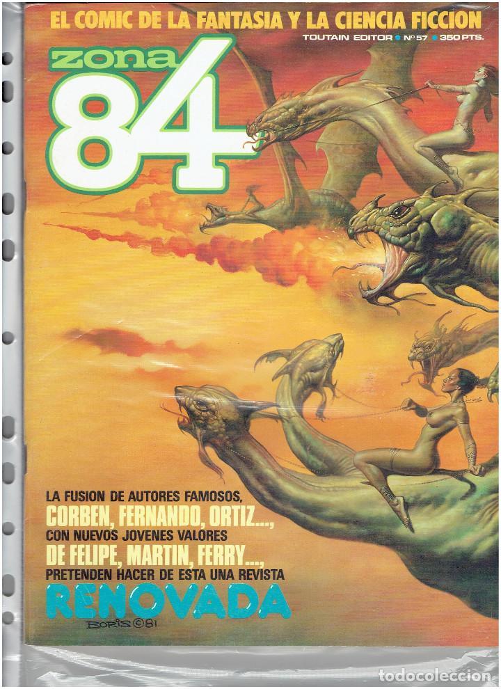 Cómics: * ZONA 84 * TOUTAIN EDITOR 1984 * LOTE DE 63 Nº + ALMANAQUES * IMPECABLES * - Foto 31 - 206537642
