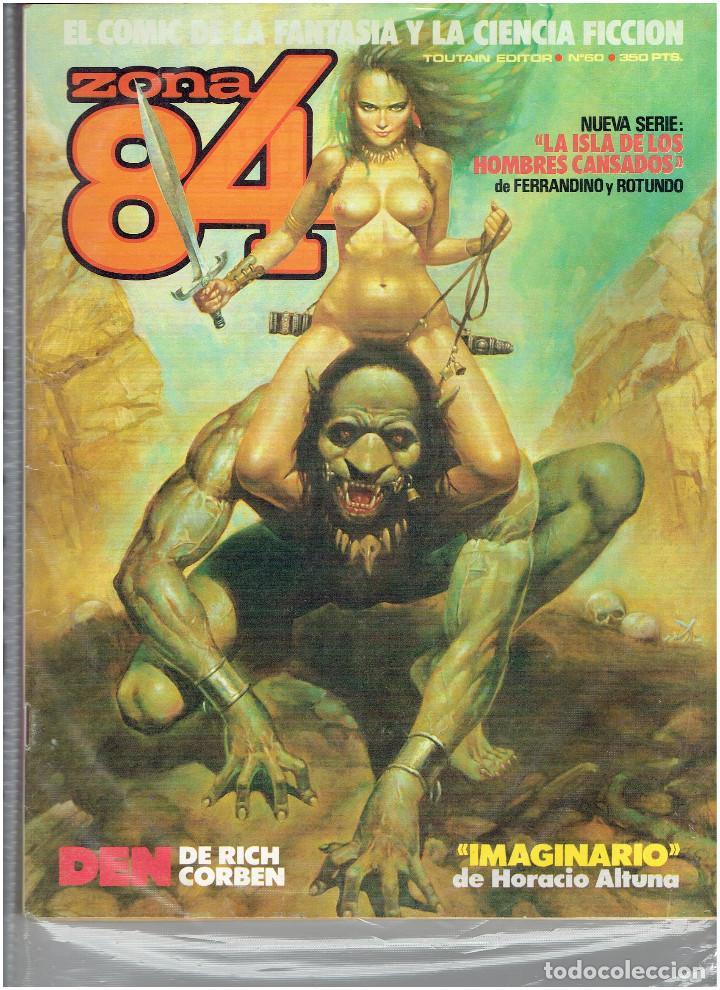 Cómics: * ZONA 84 * TOUTAIN EDITOR 1984 * LOTE DE 63 Nº + ALMANAQUES * IMPECABLES * - Foto 32 - 206537642