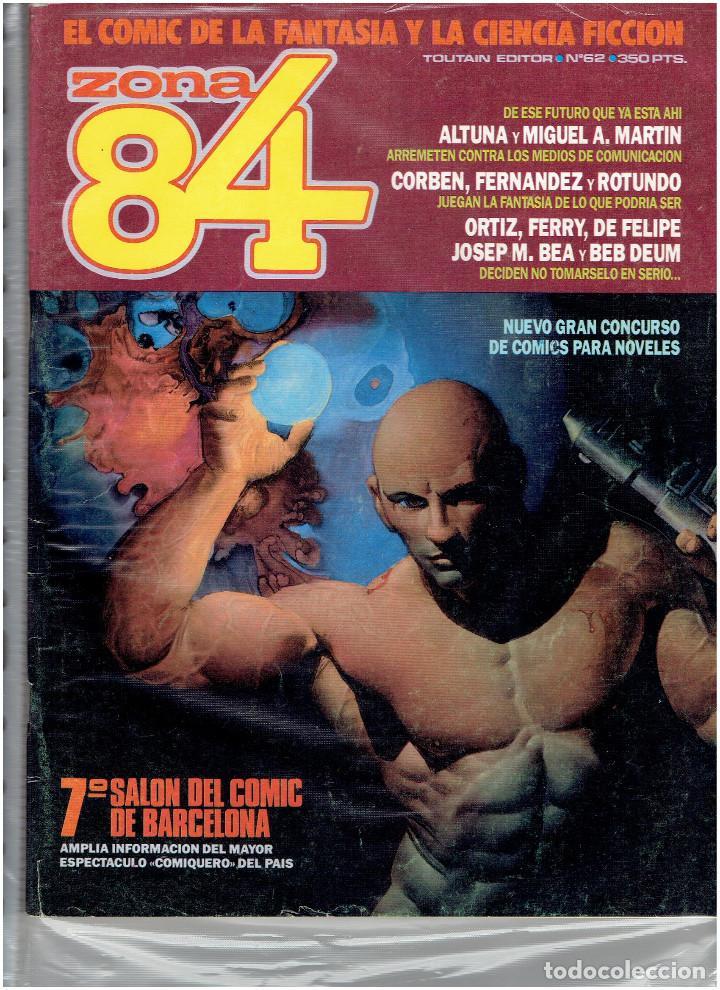Cómics: * ZONA 84 * TOUTAIN EDITOR 1984 * LOTE DE 63 Nº + ALMANAQUES * IMPECABLES * - Foto 33 - 206537642
