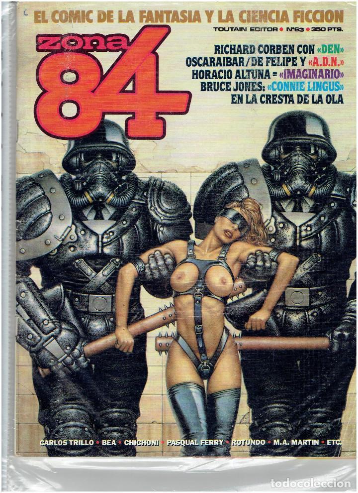 Cómics: * ZONA 84 * TOUTAIN EDITOR 1984 * LOTE DE 63 Nº + ALMANAQUES * IMPECABLES * - Foto 34 - 206537642
