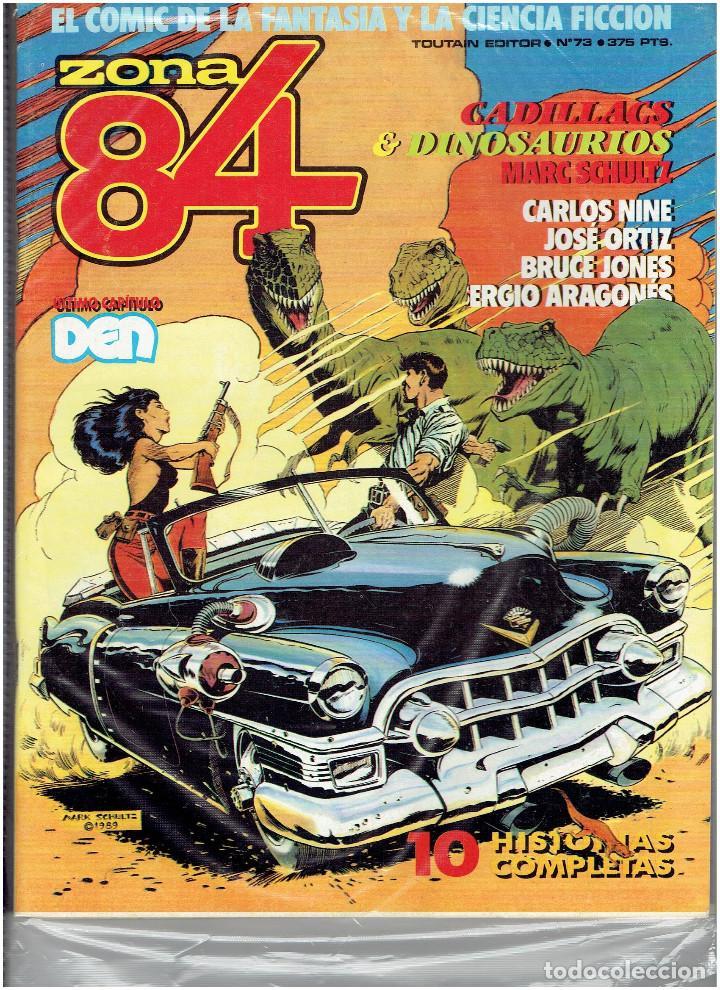 Cómics: * ZONA 84 * TOUTAIN EDITOR 1984 * LOTE DE 63 Nº + ALMANAQUES * IMPECABLES * - Foto 35 - 206537642