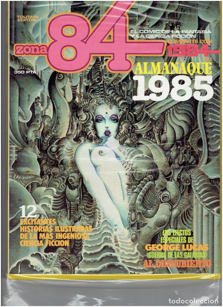 Cómics: * ZONA 84 * TOUTAIN EDITOR 1984 * LOTE DE 63 Nº + ALMANAQUES * IMPECABLES * - Foto 36 - 206537642