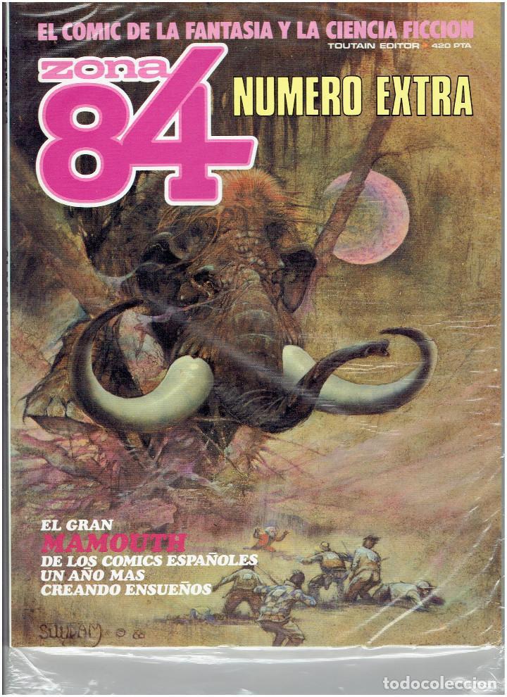 Cómics: * ZONA 84 * TOUTAIN EDITOR 1984 * LOTE DE 63 Nº + ALMANAQUES * IMPECABLES * - Foto 38 - 206537642