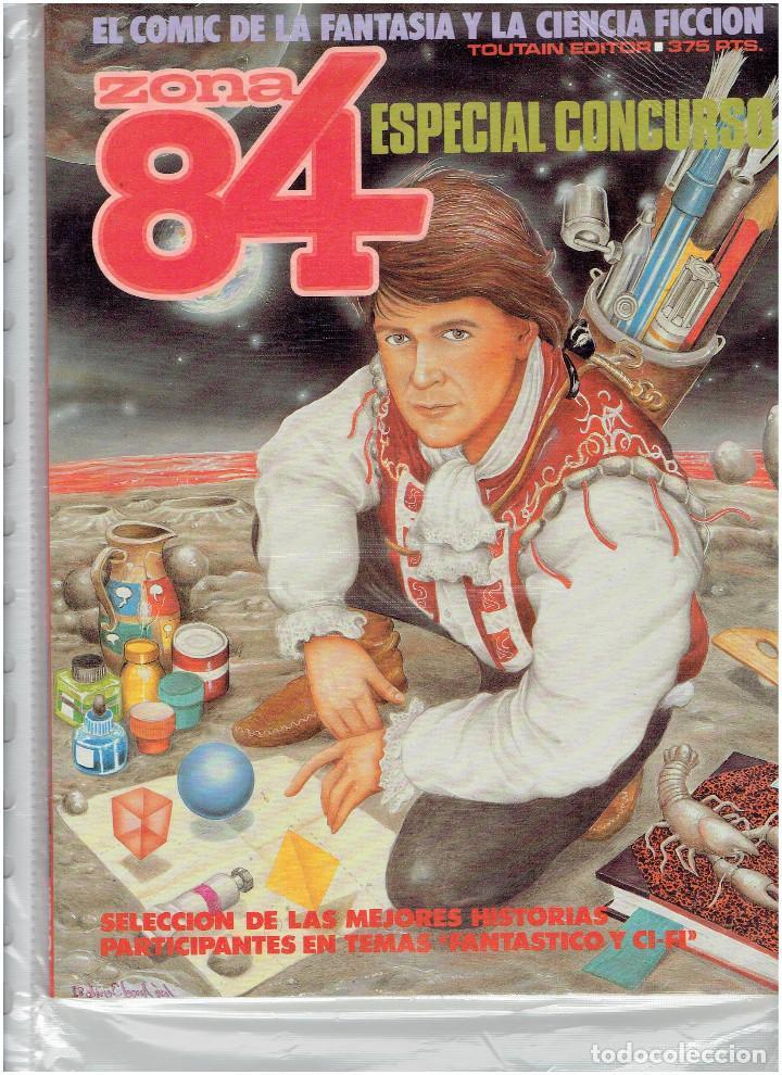 Cómics: * ZONA 84 * TOUTAIN EDITOR 1984 * LOTE DE 63 Nº + ALMANAQUES * IMPECABLES * - Foto 39 - 206537642