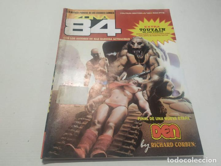 ZONA 84 Nº 93 (Tebeos y Comics - Toutain - Zona 84)