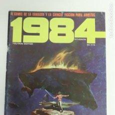Cómics: COMIC - 1984 - Nº 20 - TOUTAIN EDITOR EL COMIC DE LA FANTASÍA Y DE LA CIENCIA FICCIÓN PARA ADULTOS. Lote 207029458