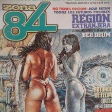 Cómics: ZONA 84 Nº 78 BUEN ESTADO. Lote 207057637