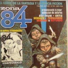 Cómics: ZONA 84 Nº 79 BUEN ESTADO. Lote 207057825