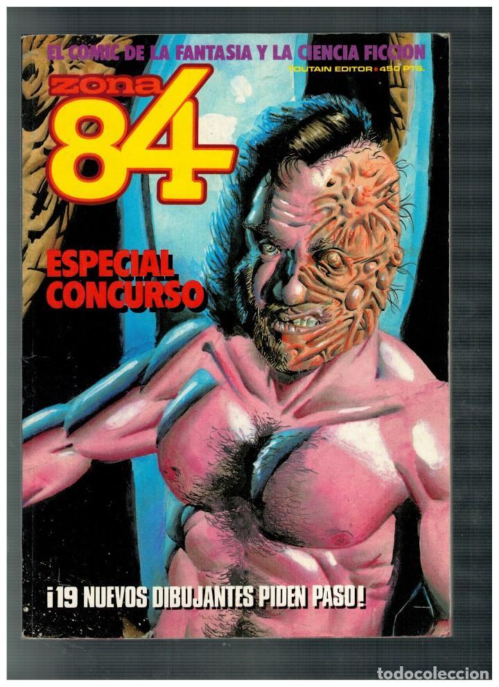 ZONA 84. ESPECIAL CONCURSO. EDICIÓN CONJUNTA CON TOTEM EL COMIX. (Tebeos y Comics - Toutain - Zona 84)
