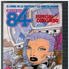 Cómics: ZONA 84. ESPECIAL CONCURSO. EDICIÓN CONJUNTA CON TOTEM EL COMIX.. Lote 207225547