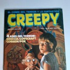 Cómics: CREEPY (1979, TOUTAIN) 61 · VII-1984 · CREEPY. Lote 207551012
