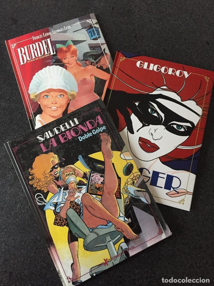 SEXPERIENCIAS COMPLETA 3 TOMOS - 1ª EDICIÓN - TOUTAIN - 1988 - ¡NUEVA! (Tebeos y Comics - Toutain - Obras Completas)