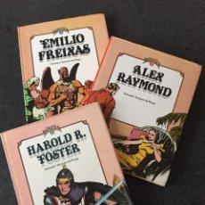 Cómics: CUANDO EL COMIC ES NOSTALGIA COMPLETA 3 TOMOS - 1ª EDICIÓN - TOUTAIN - 1982 - ¡COMO NUEVA!. Lote 207883526
