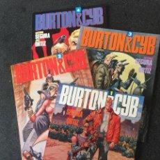 Comics : BURTON & CYB COMPLETA 4 TOMOS - A. SEGURA / JOSE ORTIZ - 1ª EDICIÓN - TOUTAIN - 1988 - ¡NUEVA!. Lote 207956416