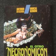 Fumetti: EL OTRO NECRONOMICON - A. SEGURA / BROCAL REMOHÍ - 1ª EDICIÓN - TOUTAIN - 1992 - ¡NUEVO!. Lote 207956623