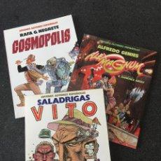 Cómics: JOVENES AUTORES ESPAÑOLES COMPLETA 3 TOMOS - 1ª EDICIÓN - TOUTAIN - 1986 - ¡NUEVA!. Lote 207959977