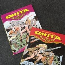Cómics: GHITA DE ALIZARR COMPLETA 2 TOMOS - FRANK THORNE - 1ª EDICIÓN - TOUTAIN - 1990 - ¡NUEVA!. Lote 207961501
