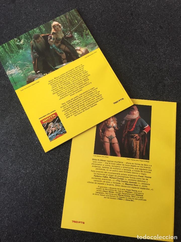 Cómics: GHITA DE ALIZARR COMPLETA 2 TOMOS - FRANK THORNE - 1ª EDICIÓN - TOUTAIN - 1990 - ¡NUEVA! - Foto 2 - 207961501