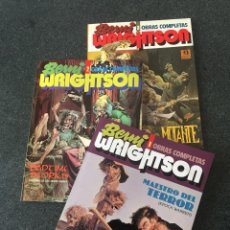 Comics : BERNI WRIGHTSON - OBRAS COMPLETAS - COMPLETA 3 TOMOS - 1ª EDICIÓN - TOUTAIN / ZINCO - 1991 - ¡NUEVA!. Lote 207969118