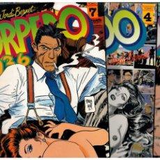 Fumetti: TORPEDO 1936. LOTE DE 5 TOMOS 1,2,3,4 Y 7. TOUTAIN EDITOR,1982. LEER. Lote 207979520