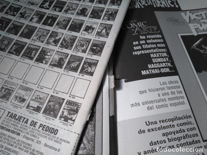 Cómics: CREEPY - EXTRA Nº11 - RETAPADO INCLUYENDO LOS NUMEROS 49, EXTRA 50, 51 Y 52 - Foto 5 - 207989188