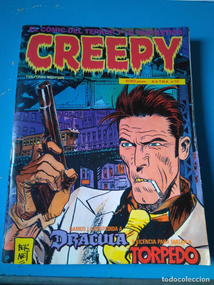 CREEPY - EXTRA Nº11 - RETAPADO INCLUYENDO LOS NUMEROS 49, EXTRA 50, 51 Y 52 (Tebeos y Comics - Toutain - Creepy)