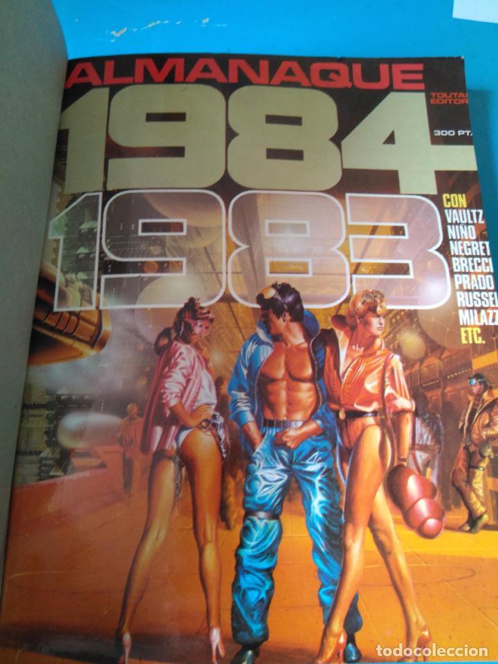 Cómics: COMICS PT 3 - RETAPADO INCLUYENDO ALMANAQUE 1984 (1983) - 1984 ESPECIAL CONCURSO - ZONA 84 Nº53 - Foto 3 - 207989557
