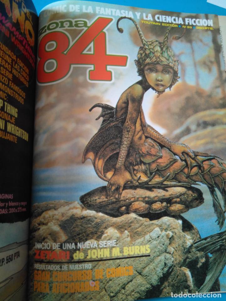 Cómics: COMICS PT 3 - RETAPADO INCLUYENDO ALMANAQUE 1984 (1983) - 1984 ESPECIAL CONCURSO - ZONA 84 Nº53 - Foto 5 - 207989557