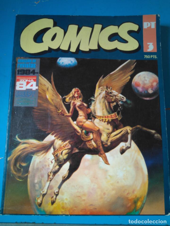 COMICS PT 3 - RETAPADO INCLUYENDO ALMANAQUE 1984 (1983) - 1984 ESPECIAL CONCURSO - ZONA 84 Nº53 (Tebeos y Comics - Toutain - 1984)