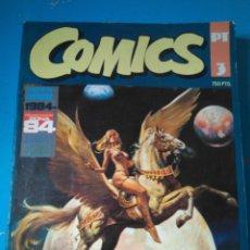 Cómics: COMICS PT 3 - RETAPADO INCLUYENDO ALMANAQUE 1984 (1983) - 1984 ESPECIAL CONCURSO - ZONA 84 Nº53. Lote 207989557