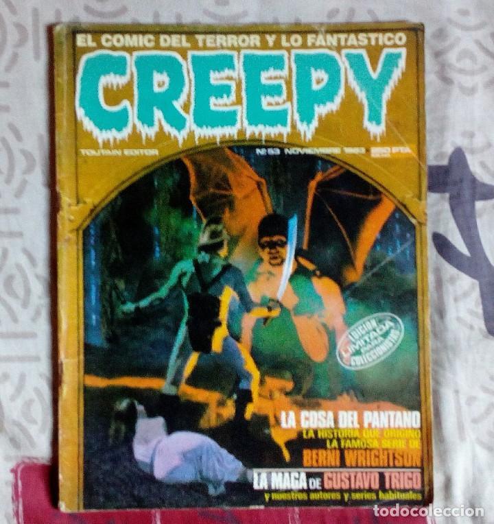 CREEPY N°53 - TOUTAIN - COMIC TERROR. (Tebeos y Comics - Toutain - Creepy)