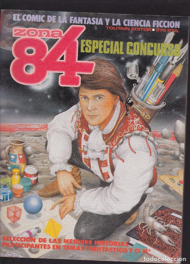 TOTEM ZONA 84 - ESPECIAL CONCURSO 1987 - EL COMIC DE LA FANTASIA Y LA CIENCIA FICCION - TOUTAIN - (Tebeos y Comics - Toutain - Zona 84)