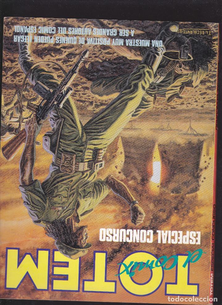 Cómics: TOTEM ZONA 84 - ESPECIAL CONCURSO 1987 - EL COMIC DE LA FANTASIA Y LA CIENCIA FICCION - TOUTAIN - - Foto 2 - 208059186