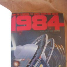 Cómics: 1984 NUMEROS 40,41,42,43,44,46,49 Y ALMANAQUE 1981. ENCUADERNADOS.. Lote 208139646