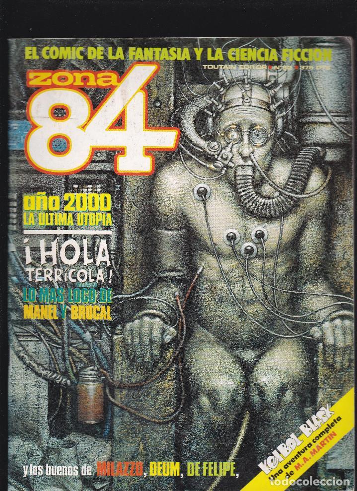 ZONA 84 ZONA84 - Nº 82 DE 96 - III-1991 - TOUTAIN - (Tebeos y Comics - Toutain - Zona 84)