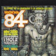 Comics : ZONA 84 ZONA84 - Nº 82 DE 96 - III-1991 - TOUTAIN -. Lote 208310626