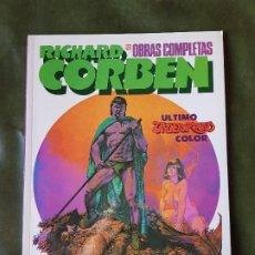 Comics : RICHARD CORBEN - ÚLTIMO UNDERGROUND COLOR (Nº12). Lote 208393540