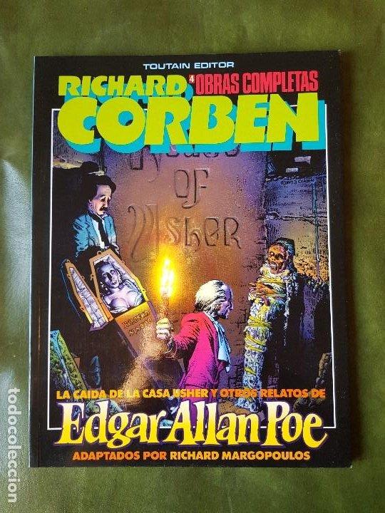 RICHARD CORBEN - LA CAÍDA DE LA CASA USHER (Nº4) (Tebeos y Comics - Toutain - Obras Completas)