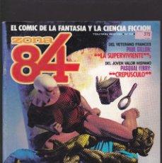 Cómics: ZONA 84 ZONA84 - Nº 52 DE 96 - IX-1988 - TOUTAIN -. Lote 208424852