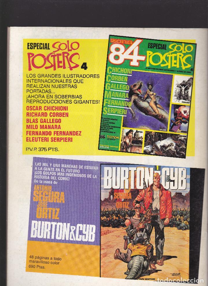 Cómics: ZONA 84 ZONA84 - Nº 52 DE 96 - IX-1988 - TOUTAIN - - Foto 2 - 208424852